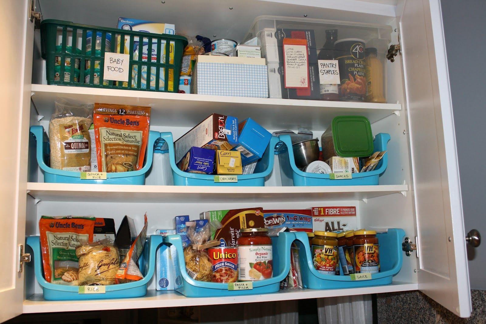 Kitchen Cabinet For Food Storage | ORGANIZE | Pinterest | Food ...