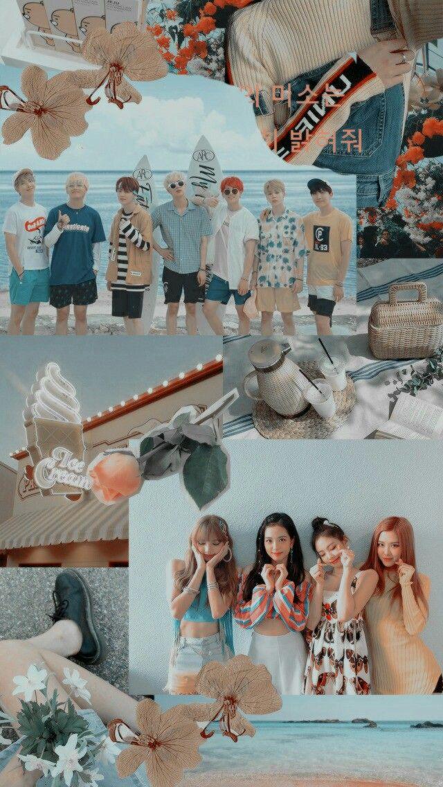 Bts x BlackPink Jin, Suga, J-Hope, RM, Jimin, V y Jungkook ...
