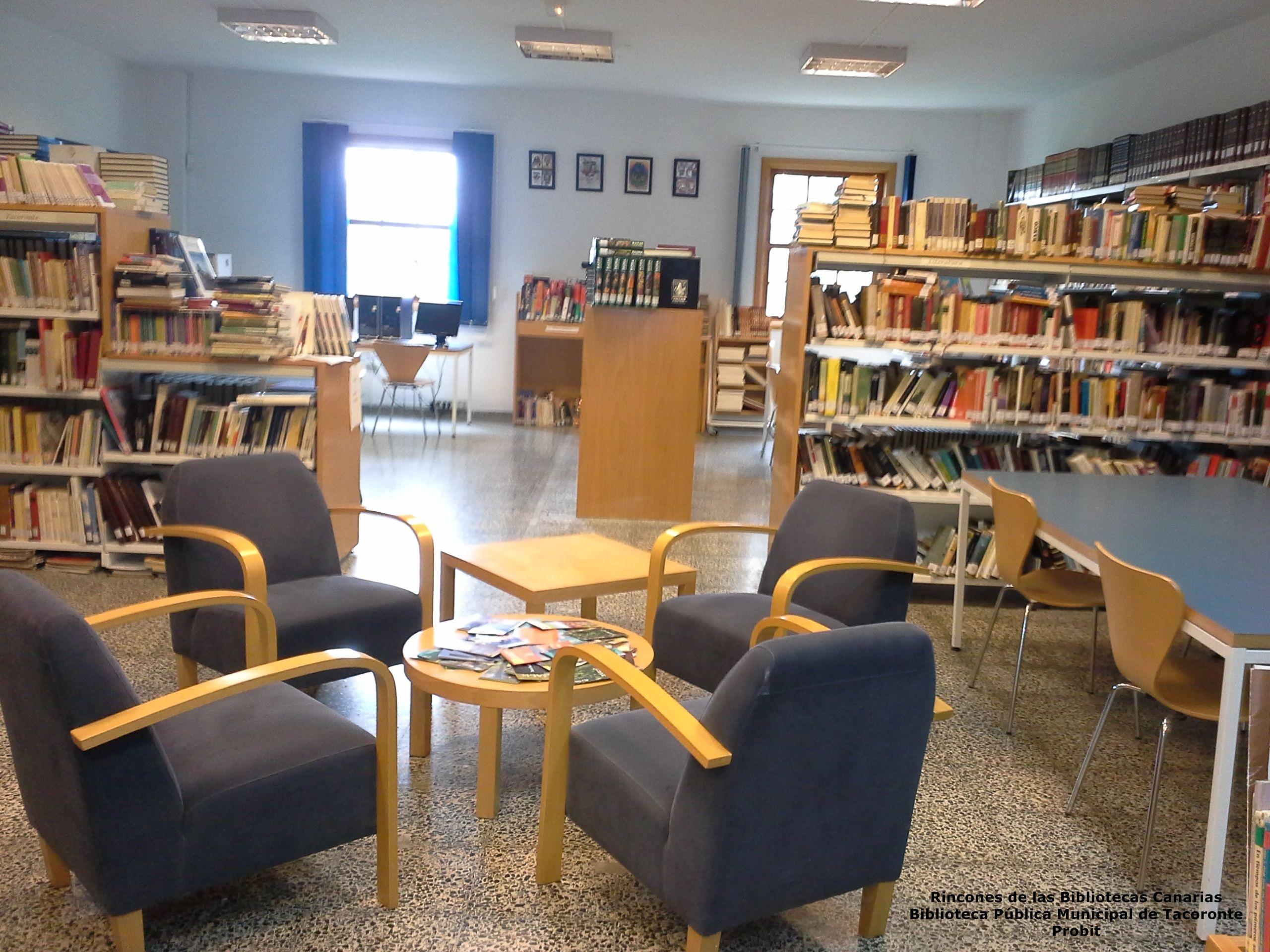 Biblioteca P Blica Municipal De Tacoronte Rincones De Las  # Muebles Tacoronte
