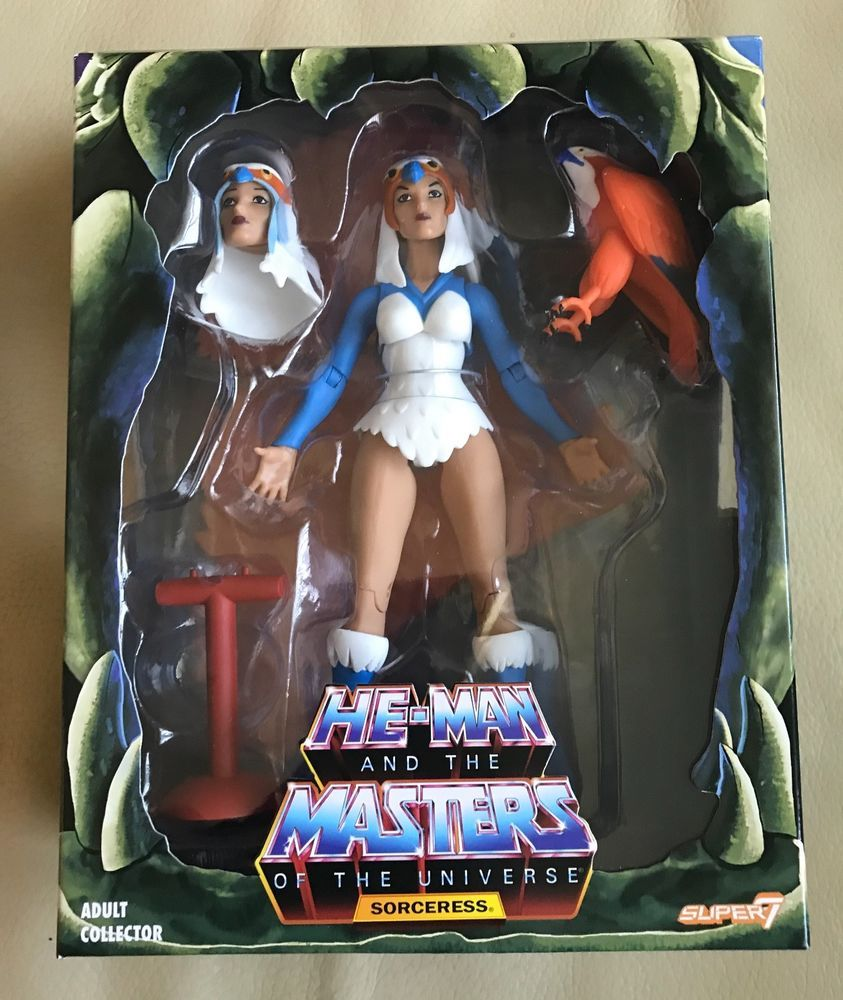 Sorceress Club Grayskull 2.0 Filmation Masters of the Universe MOTUC He-Man