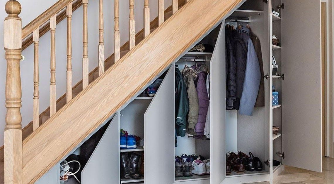 Under Stair Solution Under Stair In London Beautiful Under Stairs | Wardrobe Design Under Stairs | Hallway Storage | Basement Stairs | Stair Case | Living Room | Shoe