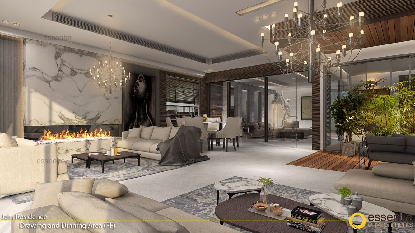 Luxury Private Residence In Gurgaon Interior Design And Styling