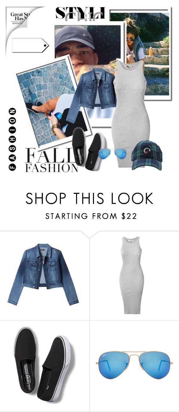 """Untitled #168"" by soniadomi ❤ liked on Polyvore featuring Bebe, Glamorous, Keds, Ray-Ban, Southern Proper and MANGO"