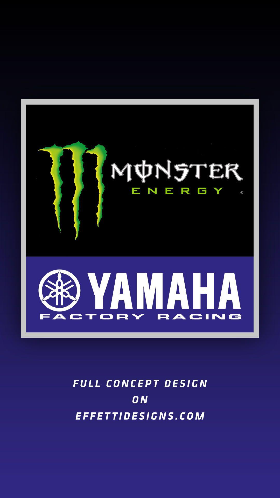 Monster Energy Yamaha MotoGP | Mobil, Desain, Wallpaper ponsel