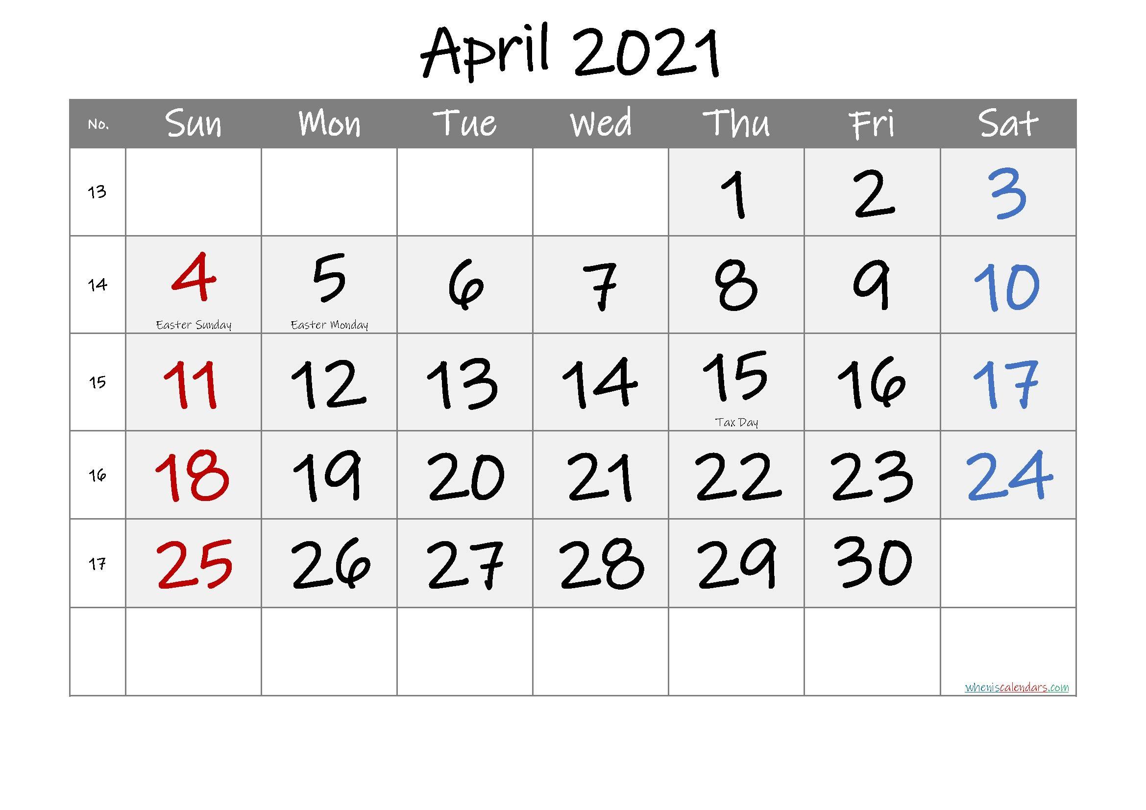 January To April 2021 Calendar Latar Belakang