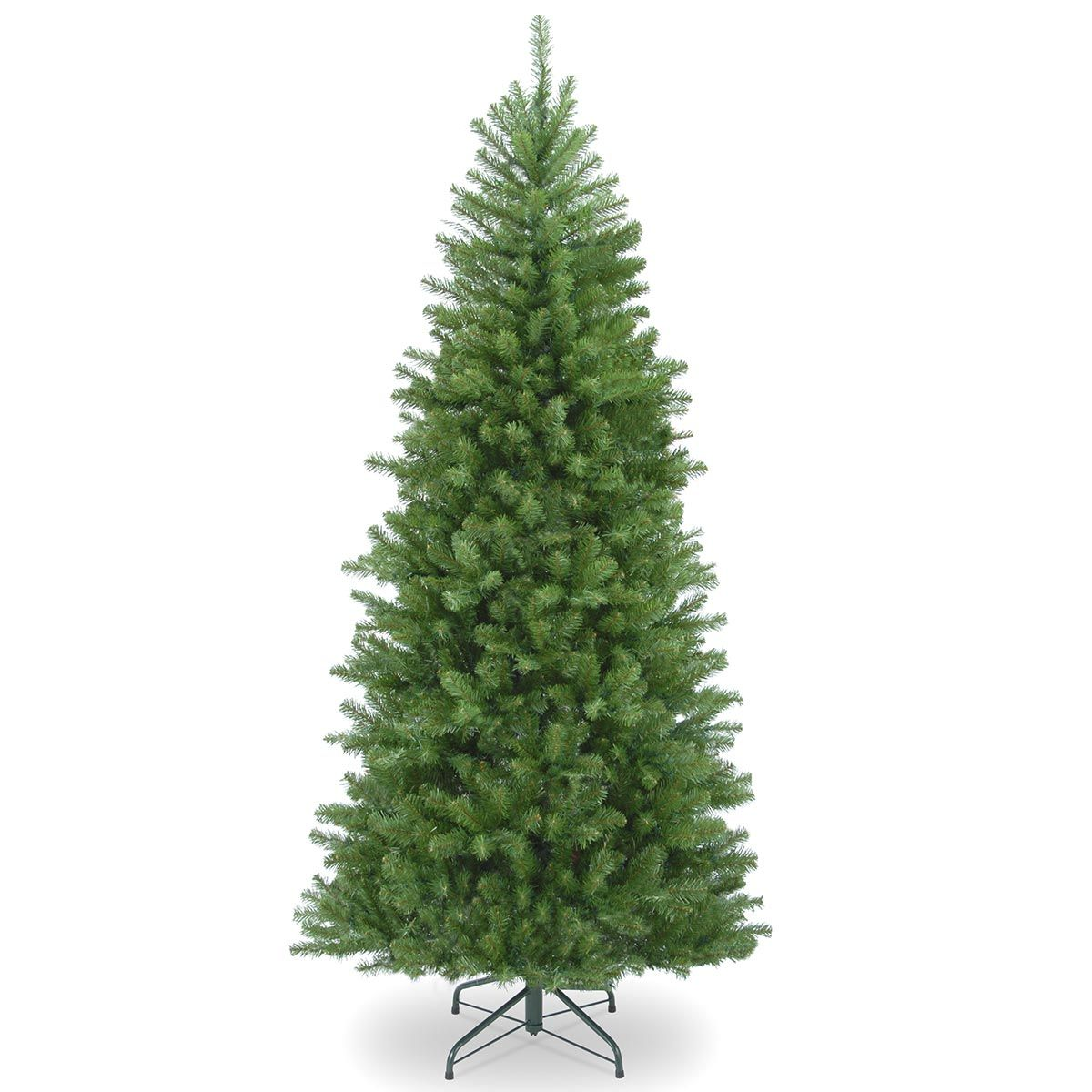 Columbia Christmas Tree: 5.5ft Columbia Spruce Slim Artificial Christmas Tree