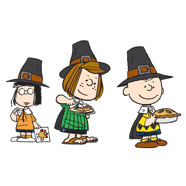 Charles M. Schulz \'Pilgrims\' Art | Thanksgiving | Pinterest