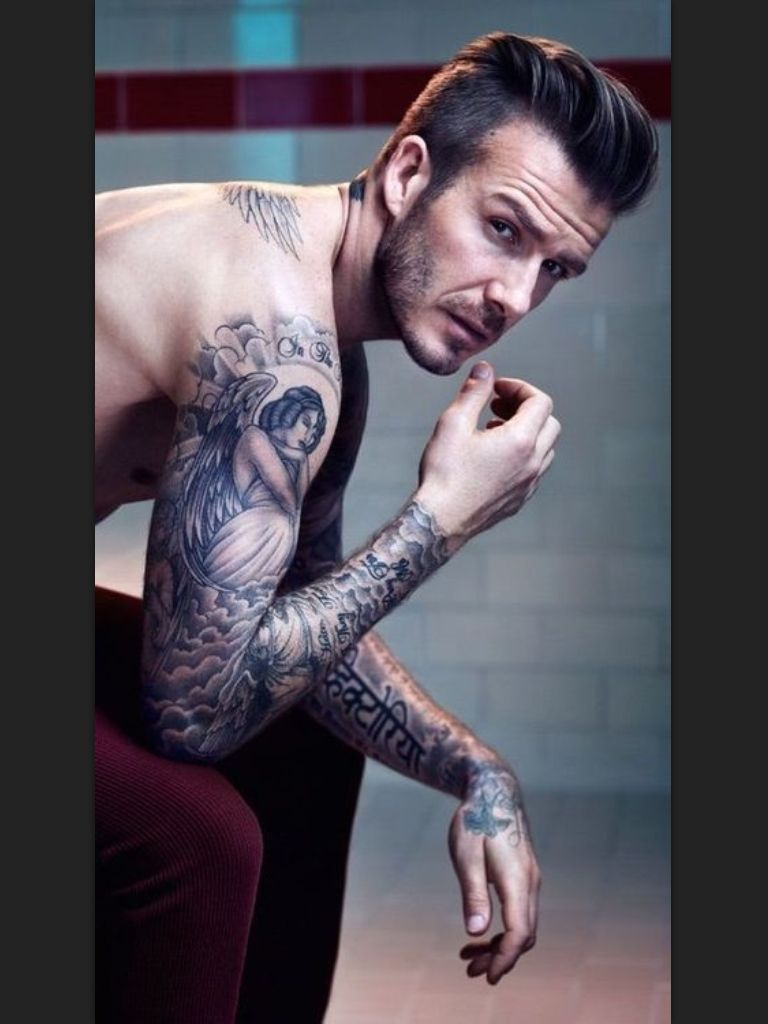 Tattoos of david beckham tattoo chief blog for David beckham tattoo sleeve