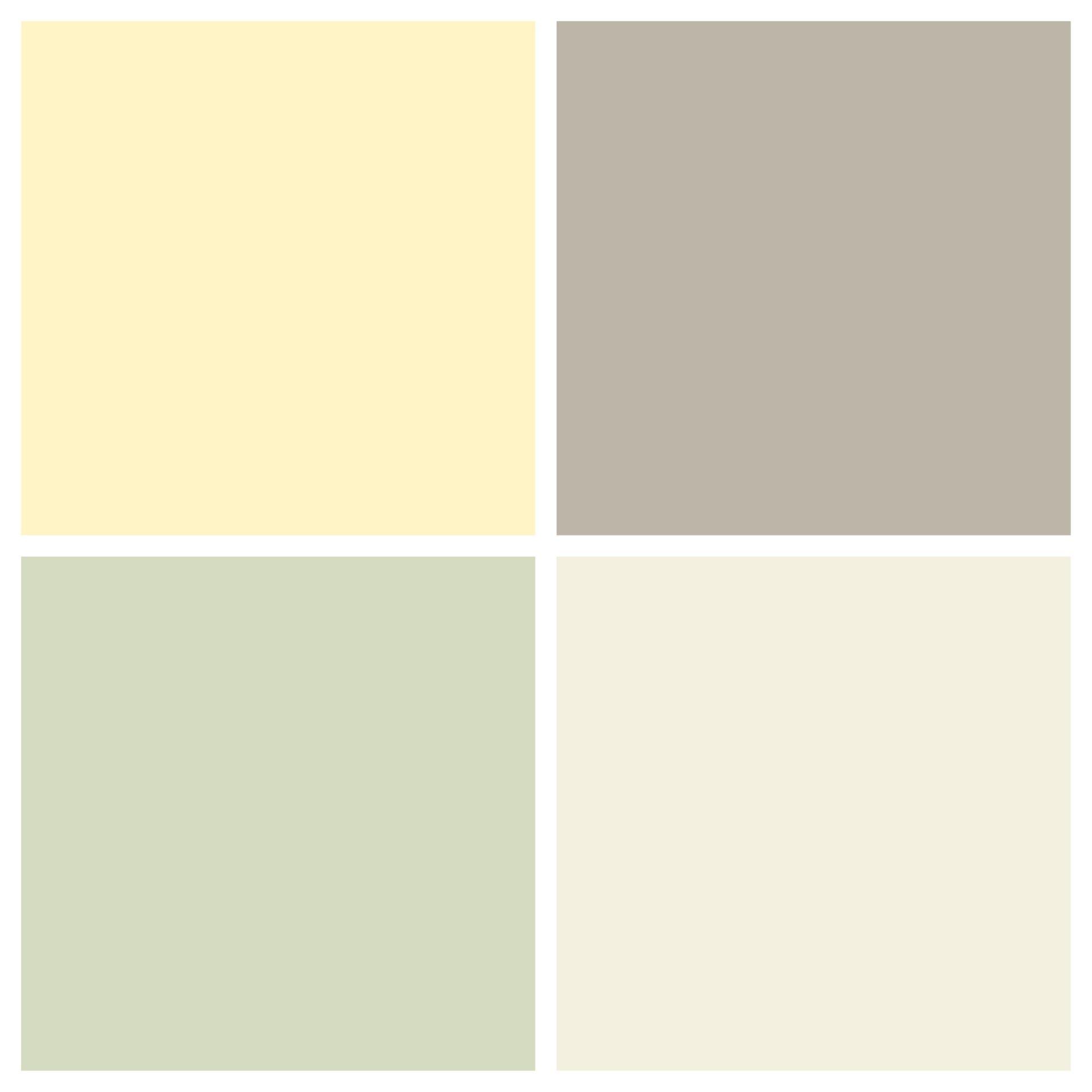 I love this color scheme! Top left: Benjamin Moore Moonlight, Top ...