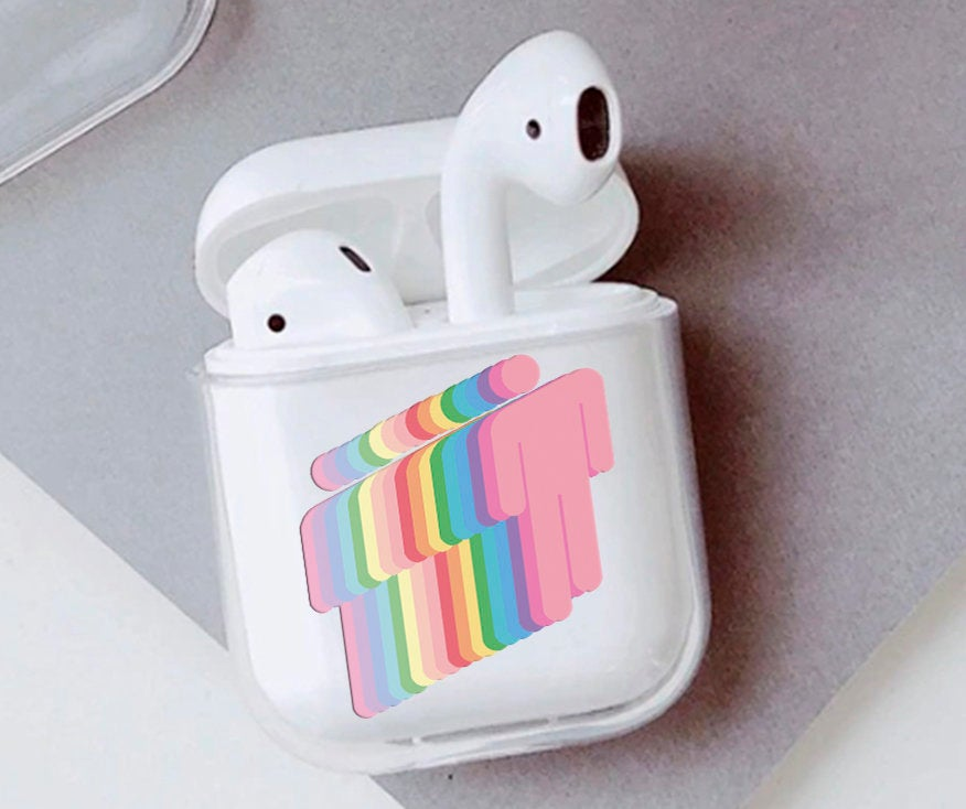 Fan Art Airpods Case Earphone Protective Case Cover Glossy Etsy Cute Ipod Cases Girly Phone Cases Airpod Case