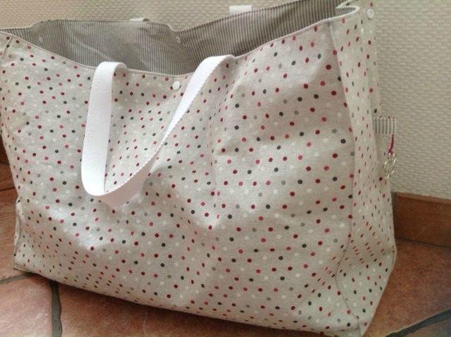 sac de plage inspir sac petit bateau xxl carole la f e sacs et trousses pinterest. Black Bedroom Furniture Sets. Home Design Ideas