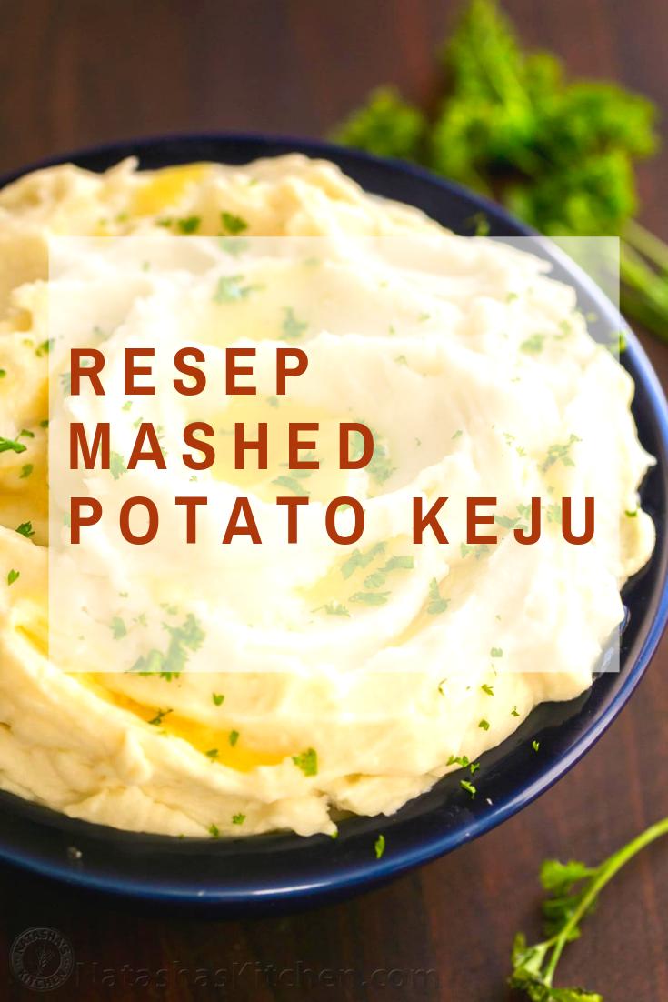 Resep Mashed Potato : resep, mashed, potato, Resep, Mashed, Potato, Praktis, Untuk, Sehat, Kentang, Tumbuk,, Makanan,