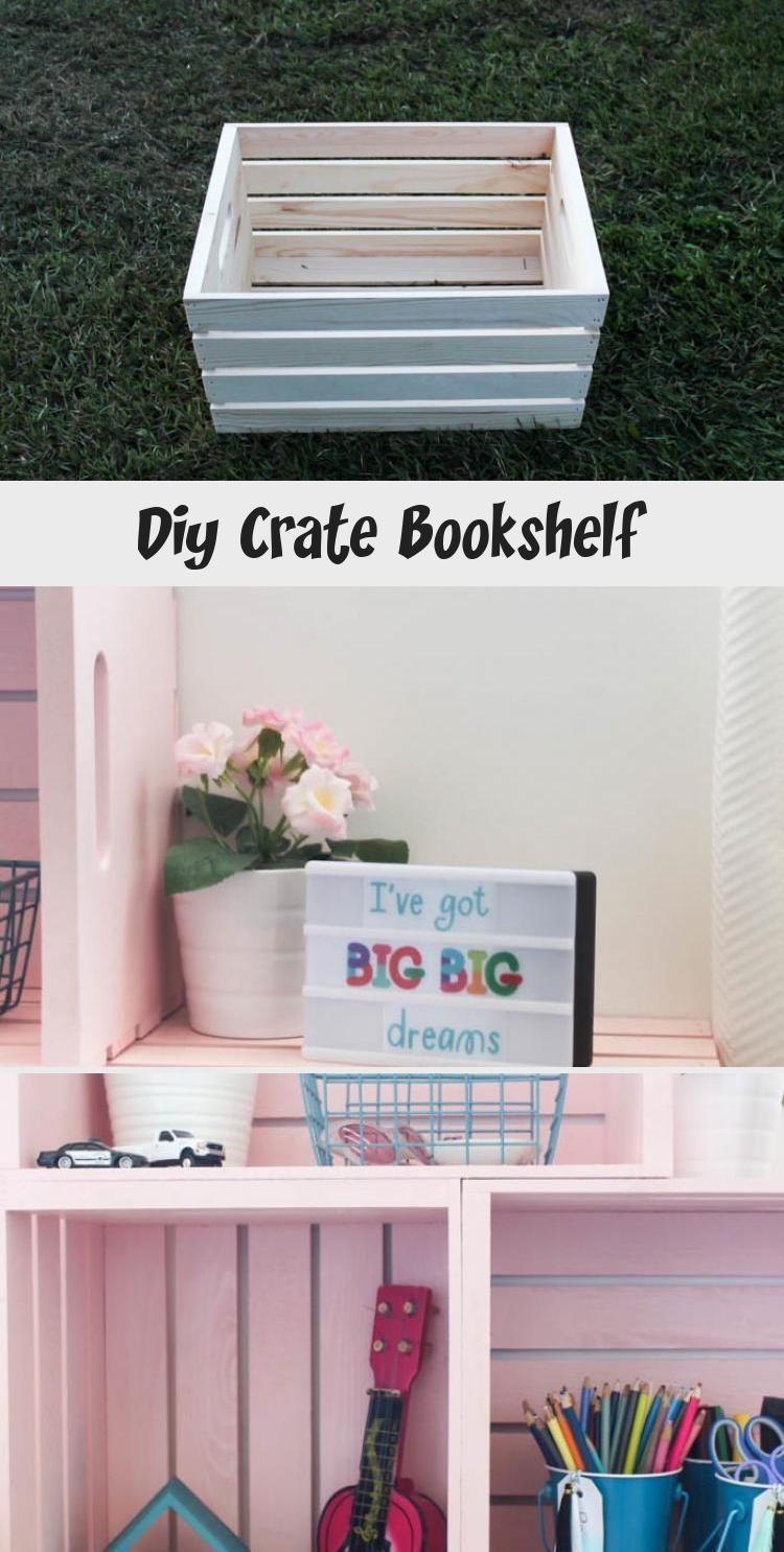 Photo of Diy Crate Bookshelf – DIY – Impressive! Amazing box bookcases …