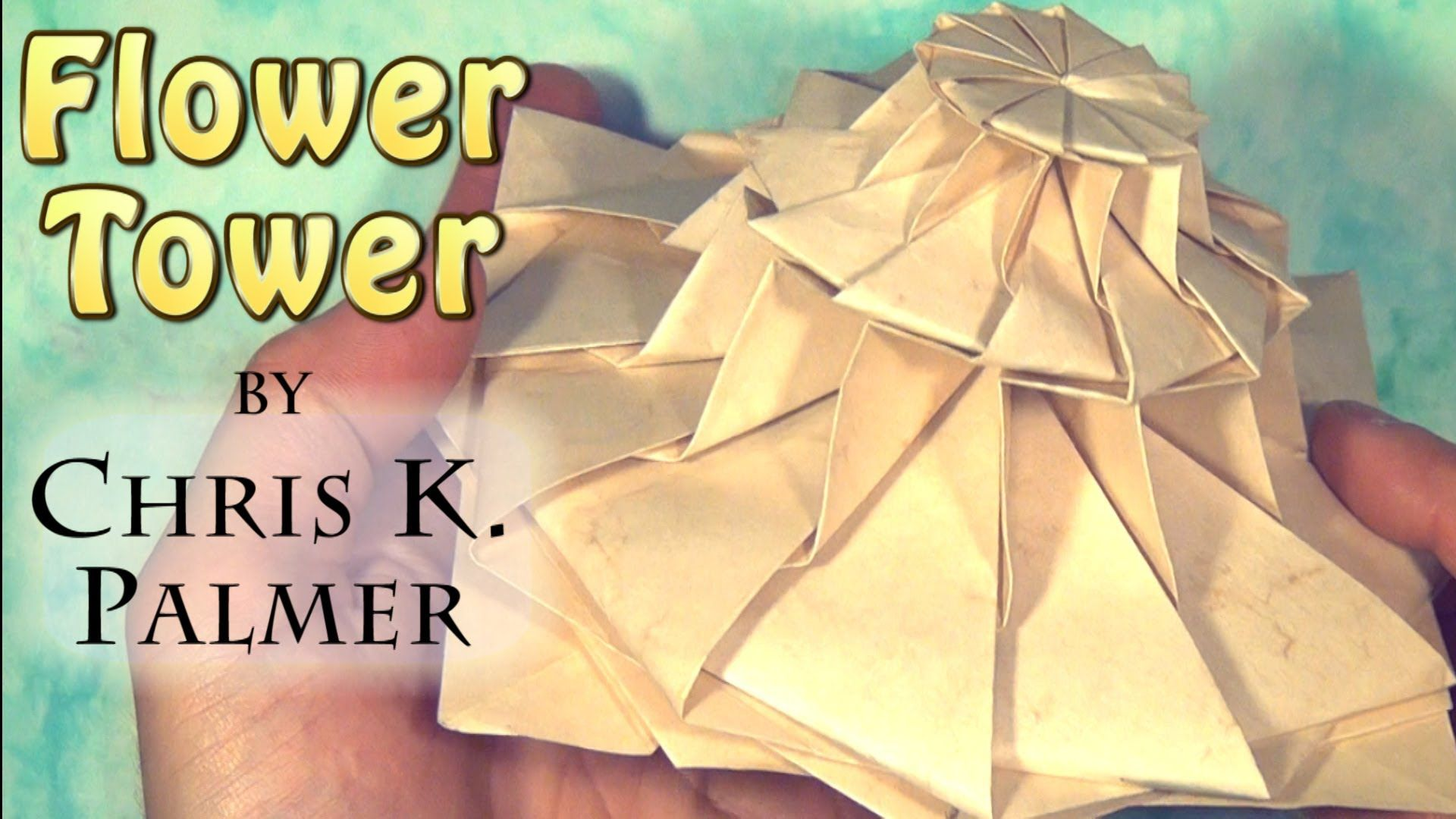 Flower Tower By Chris K Palmer Tutorial Published On Sep 15