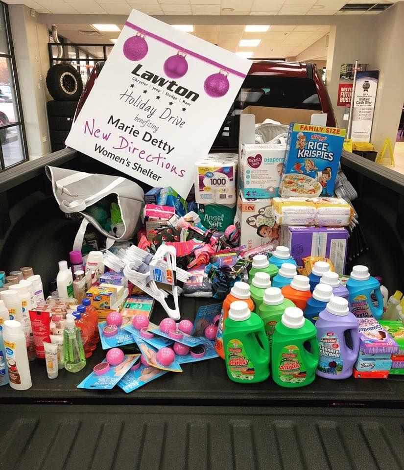 Donation To Lawton Women S Shelter Jeep Dodge Chrysler Jeep Dodge Ram