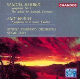 Barber: Symphony No. 1; The School for Scandal Overture; Beach: Gaelic Symphony [CD], 01799910