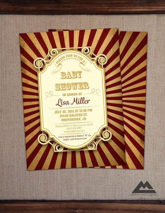 vintage carnival invitations printable carnival invitations diy