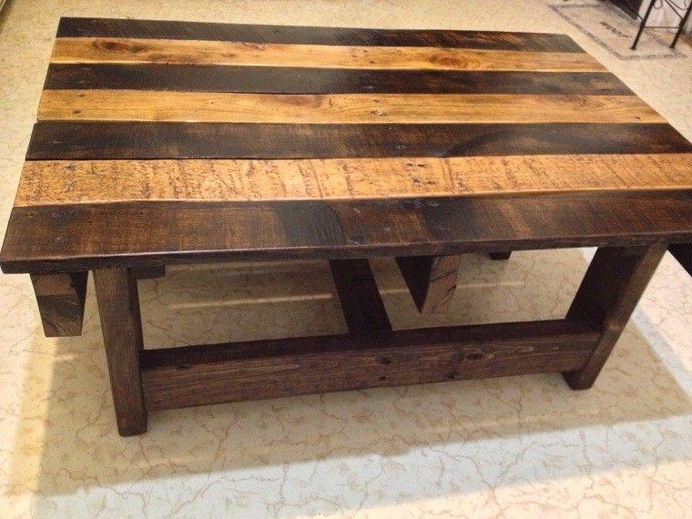 reclaimed wood furniture plans. Reclaimed Wood Coffee Table Handmade Rustic Pallet By Kevindaviswoodwork Furniture Plans U
