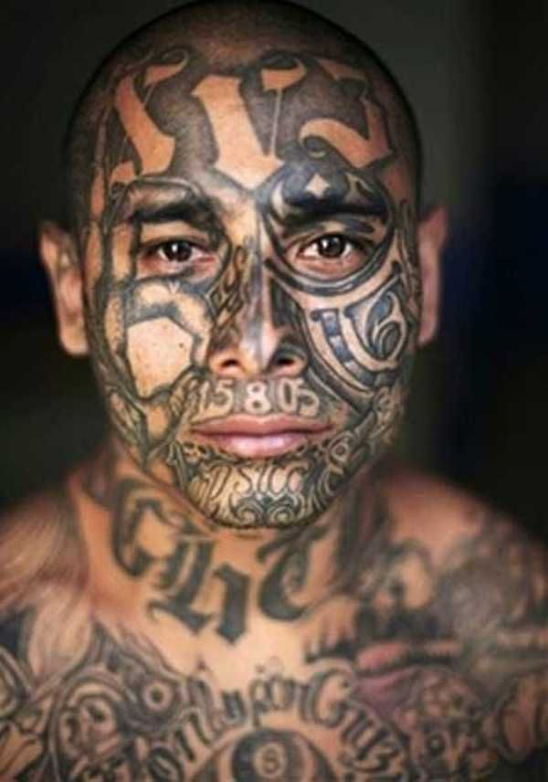 88aef06c1 mexican gangs - Google Search Bad Tattoos, Tatting, Prison, Naruto, El  Salvador