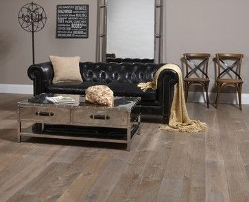 Northern Wide Plank Shades Of Gray And Black Eclectic Living