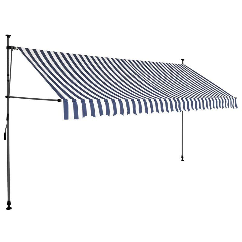 Polyester Retractable Standard Patio Awning In 2020 Outdoor Awnings Patio Patio Awning