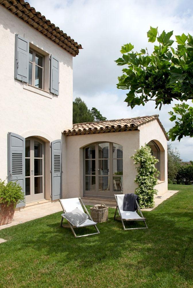 Une Nature En Beaute Couleur Facade Maison Maison En Provence Facade Maison