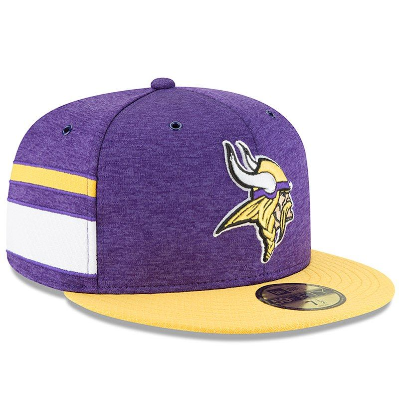 6fc4a062d Minnesota Vikings New Era 2018 NFL Sideline Home Official 59FIFTY ...
