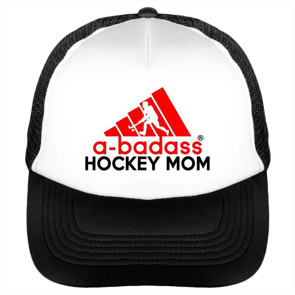 561c65caf34 A-BADASS HOCKEY MOM  A-badass  Mother  Mom  A-badass Mother  Hat  Trucker   Abadass Mom  Hockey  Hockey Mom  Abadass Hockey. Hockey t-shirts