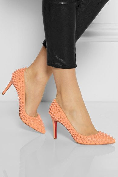 christian louboutin pigalle spikes 85mm