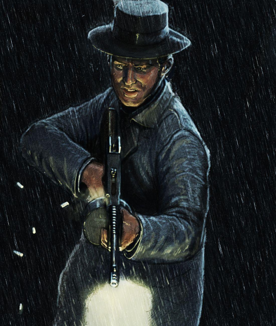 Картинки арт бандит