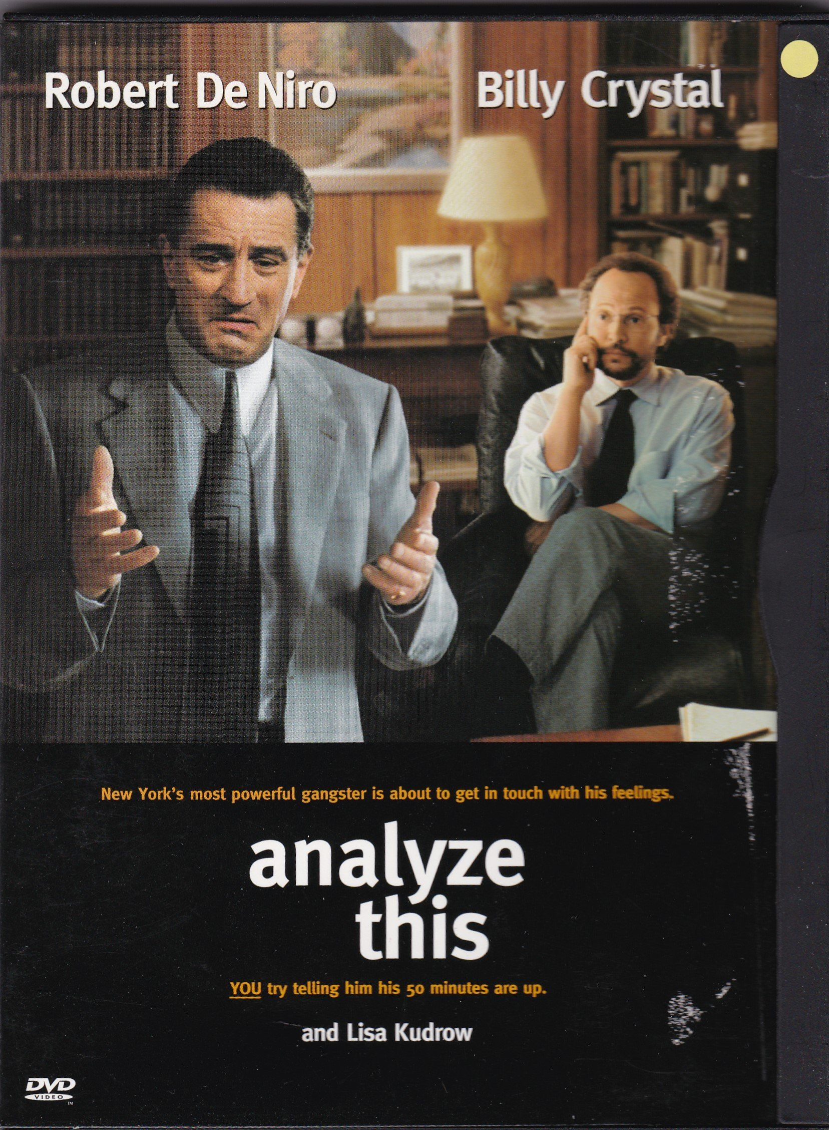 Dvd Analyze This With Robert De Niro And Billy Crystal In 2020