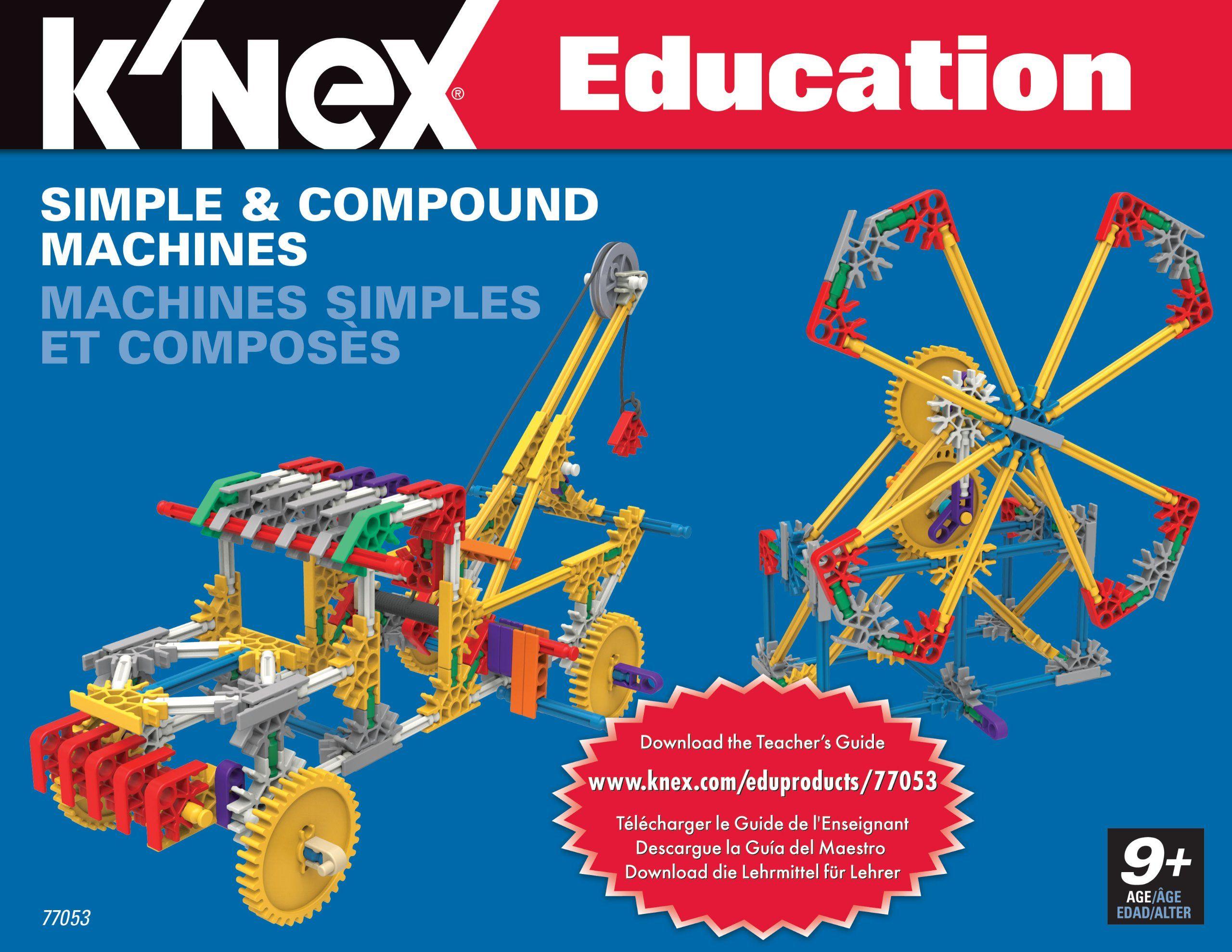 Amazon K NEX Education Simple and pound Machines Toys