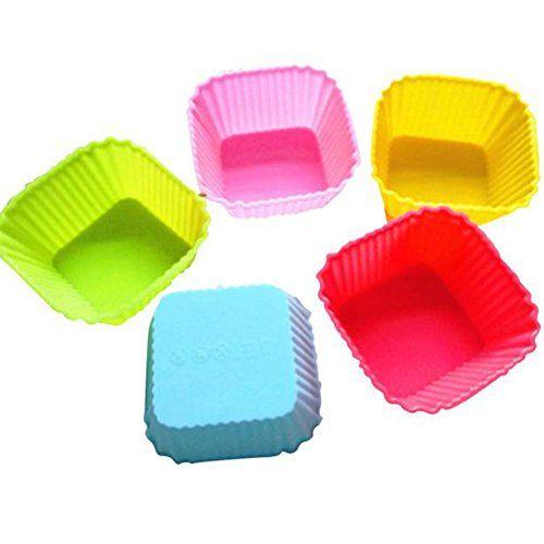 Muangan 12pcs Kitchen Craft Cake Cup Cupcake Cases Muffin Pudding