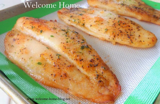 Flounder Fish Recipes Skillet