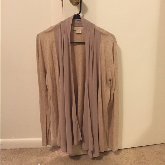 ❤️ Michael Kors Cardigan Beige Michael Kors cardigan. Never worn. Michael Kors Sweaters Cardigans
