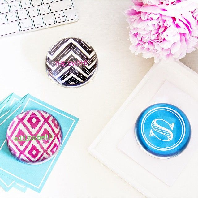 New Arrival! #paperweights #pretties #summerfavorites #deskdecor #colorful #work #gifties #gifts #giftsforher