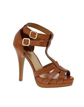 ASOS PORTIA Platform T-Bar Shoes