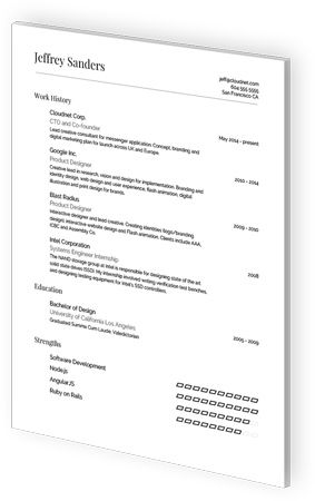 Google Docs Resume Templates by VisualCV Beautiful words - docs resume template