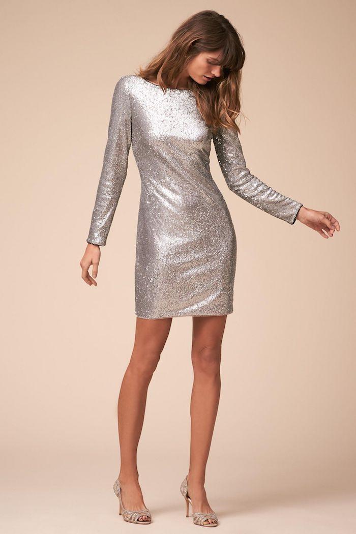 fae3434d4b71ff Welche schuhe zu silbernem kleid – Modische Damenkleider