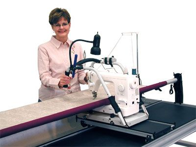 The Pinnacle Quilting Frame Grace No-Baste Alluminum Frame - Machine ...