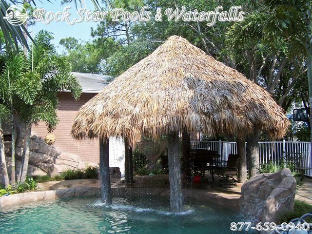 Swimming Pool Tiki Hut