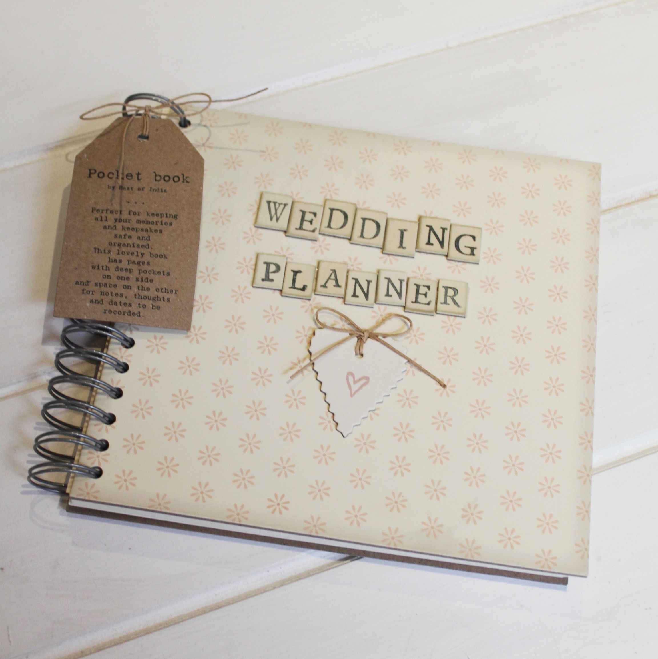 Wedding Planner Book A beautiful wedding planning organiser book