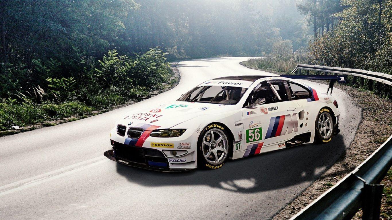 BMW M3 E92 Yar Otomobili HD Duvar Kad Duvar Katlar