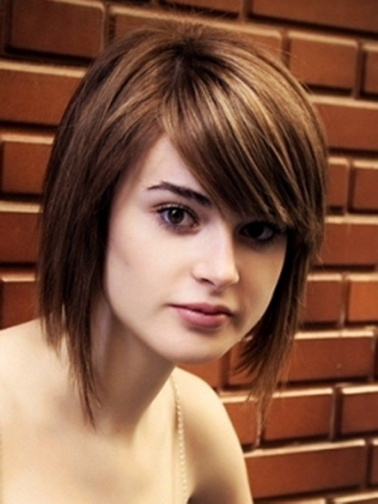 Hot and swanky hairstyles for round face haircuts pinterest