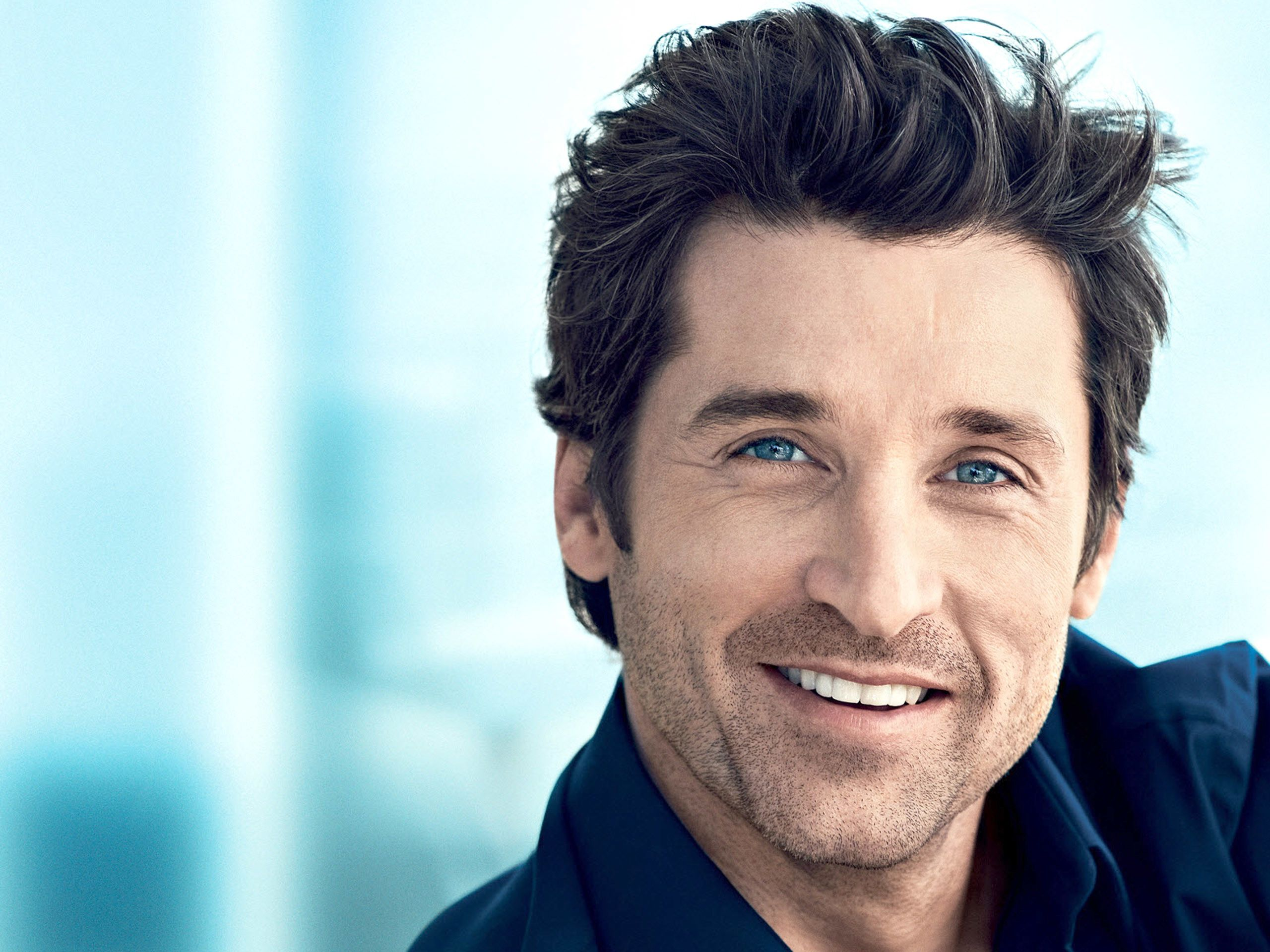 Patrick Dempsey Beautiful Blue Eyes Hot Male Celebrities