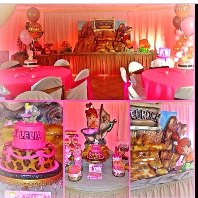 Pebbles Baby Shower By Monica's Party Planning ( I Think