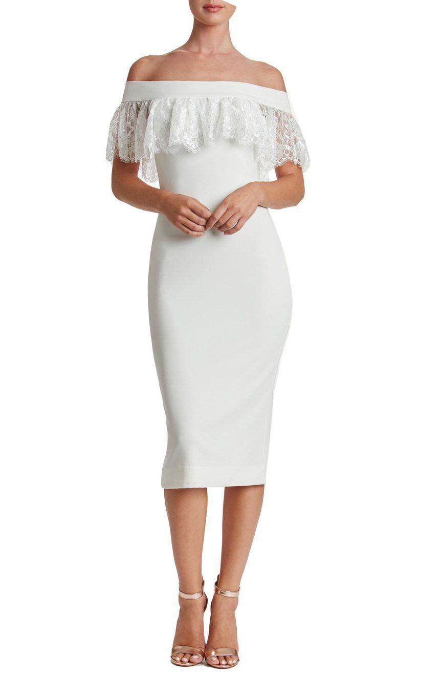 Gesen tea length prom dresses cap sleeve lace party evening