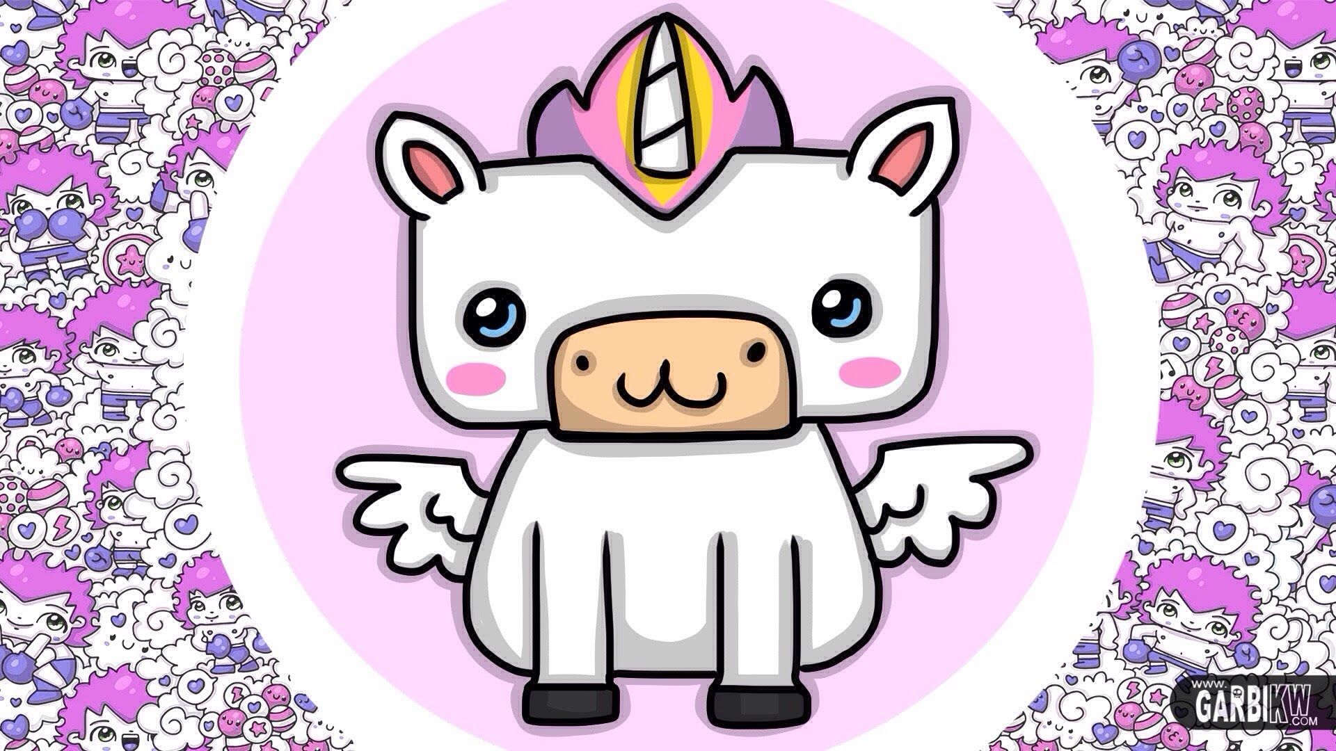 How to draw kawaii unicorn easy drawings hello kawaii machine