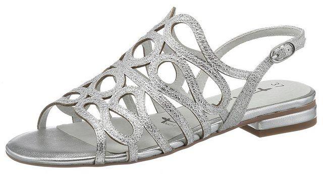 Ayn« Sandalette in Crinkle Optik   Gladiator sandals, Shoes
