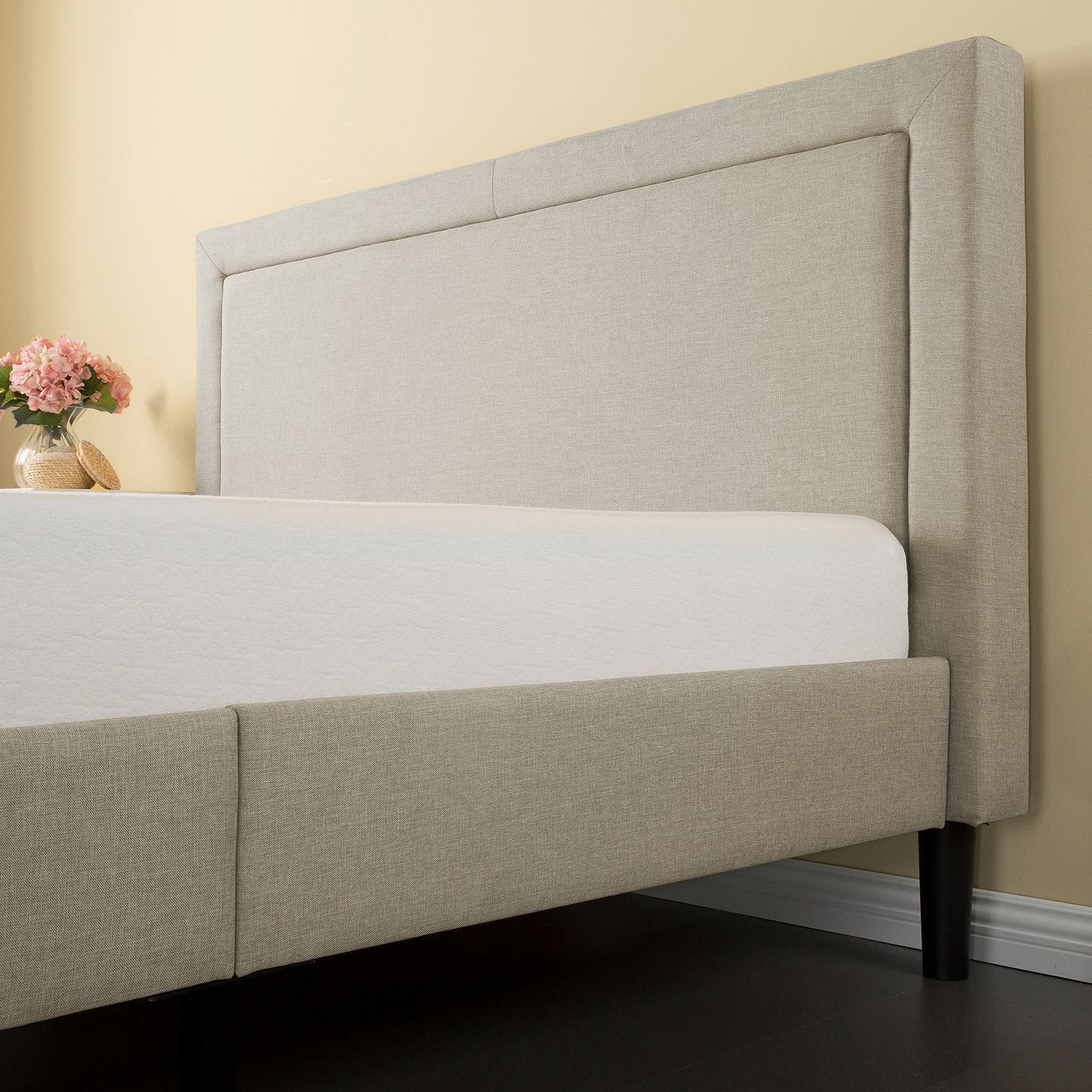 Found it at Wayfair - Upholstered Panel Bed | Beds I want | Pinterest